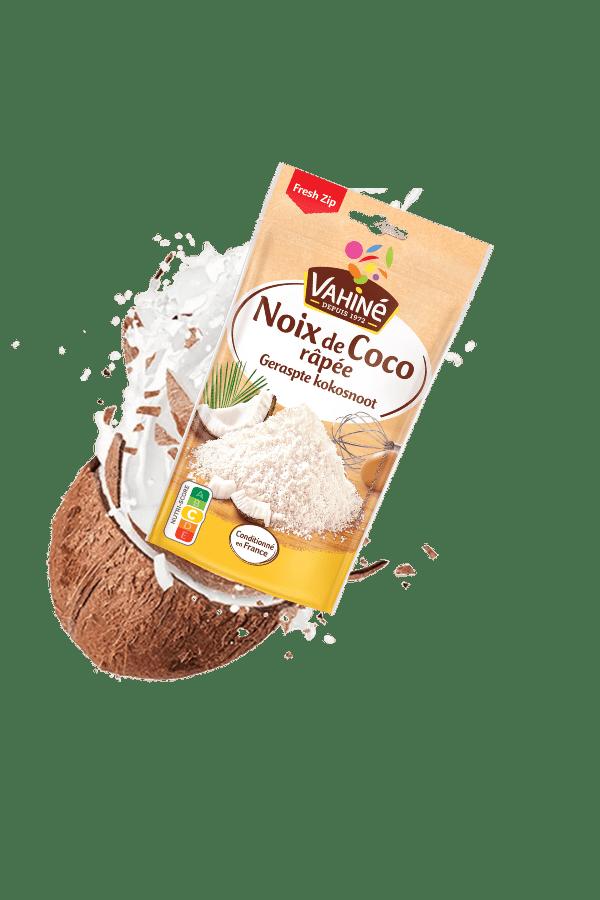 Noix de coco râpée en sachet | Vahiné