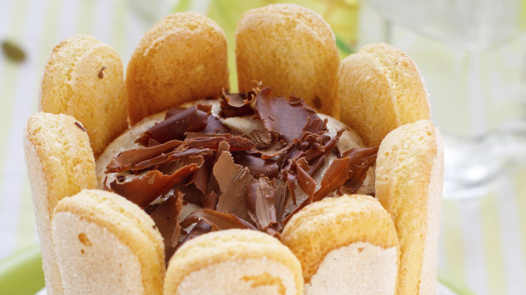 Recette Charlotte Au Chocolat Sans Oeuf charlotte chocolat-café - recette   vahiné