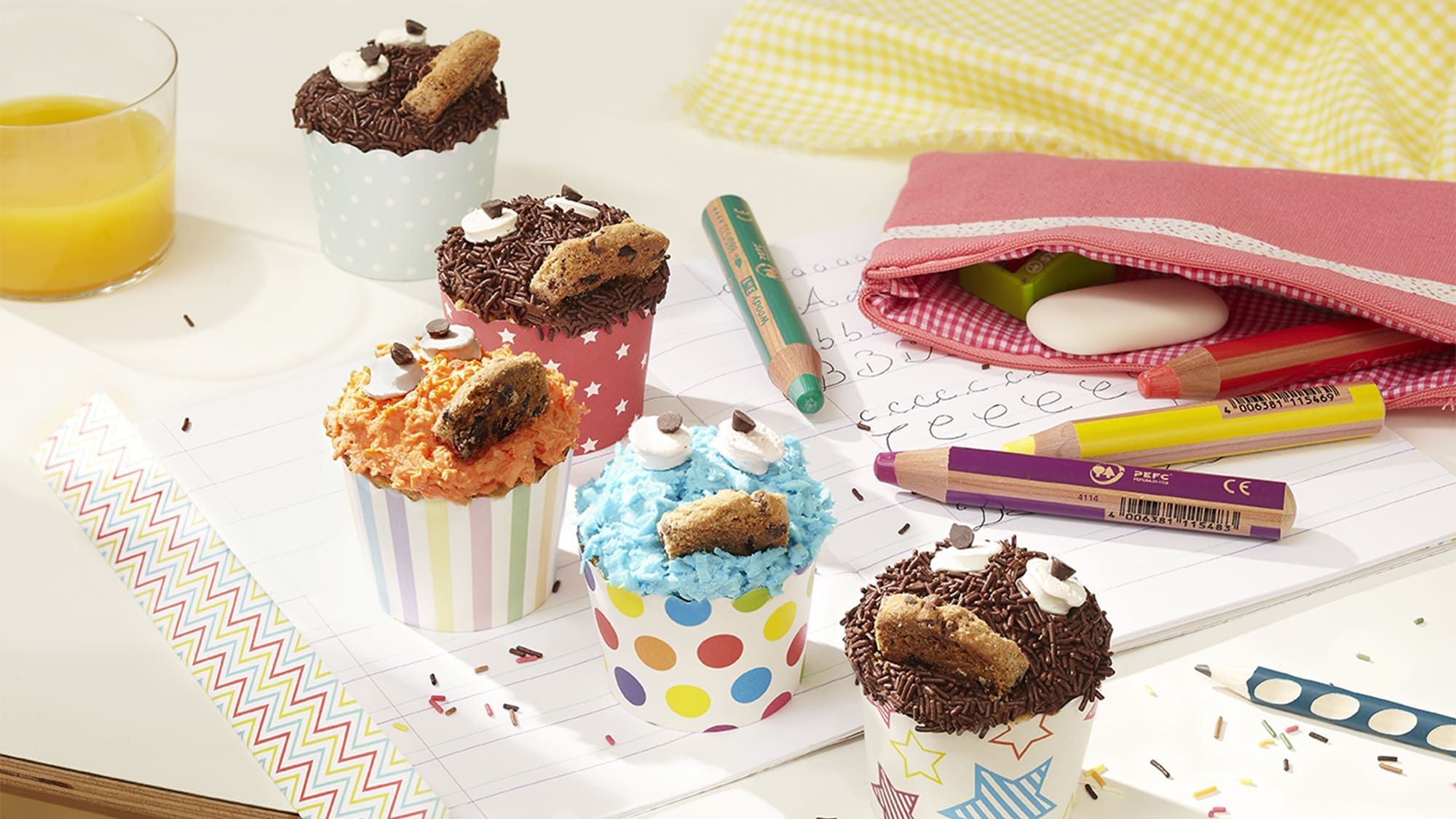 Cupcakes Chocolat Monstres Rigolos Recette Vahiné