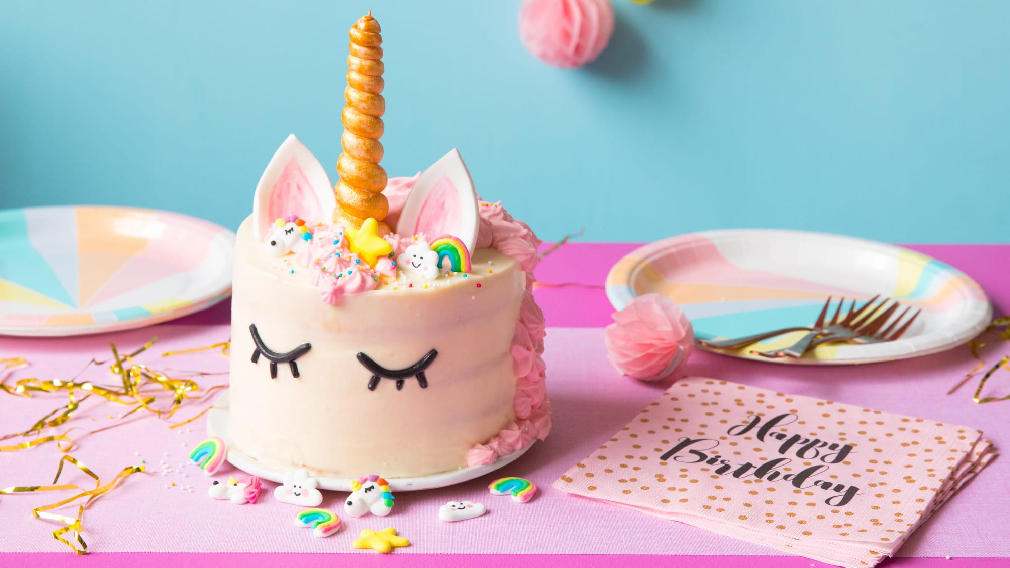 Gâteau Licorne Recette Vahiné