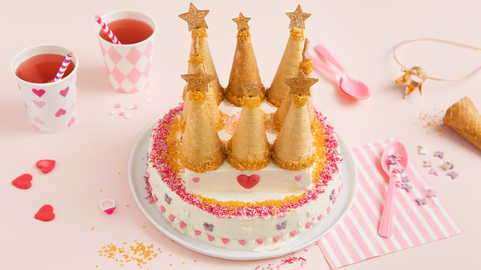 gateaux anniversaire enfant. Gâteau princesse